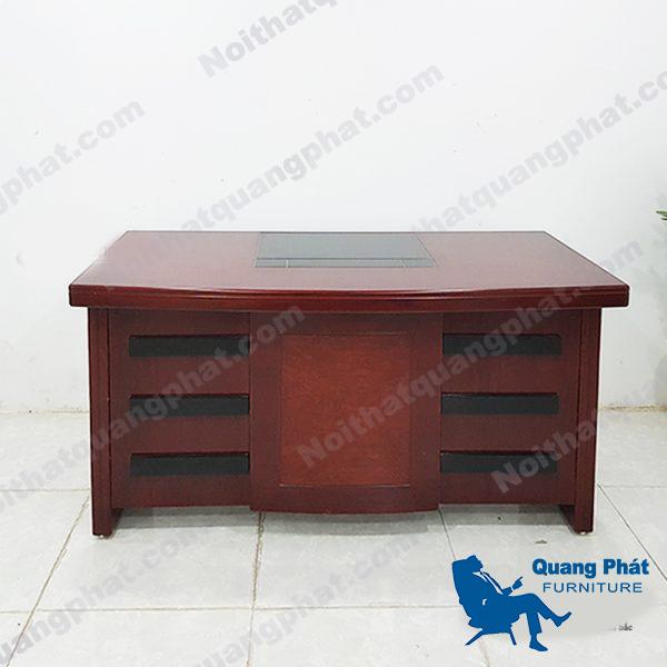 bàn giám đốc 1m4 giá rẻ không hộc
