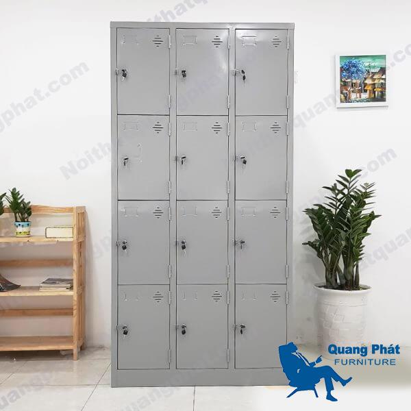 thanh lý tủ locker 12 ngăn